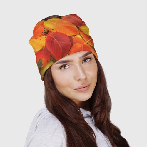 Шапка 3D  Фото 03, Осенний покров