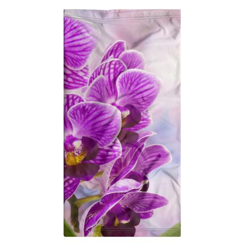 Бандана-труба 3D Божественная орхидея Фото 01