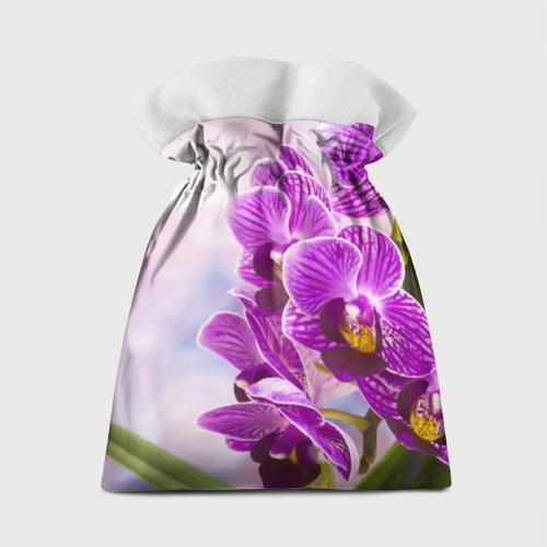Подарочный 3D мешок Божественная орхидея Фото 01