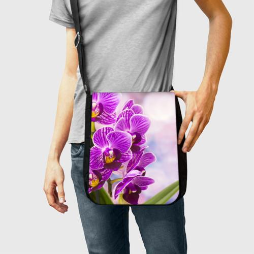 Сумка через плечо Божественная орхидея Фото 01