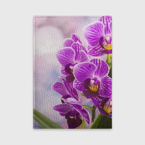Обложка для автодокументов Божественная орхидея Фото 01
