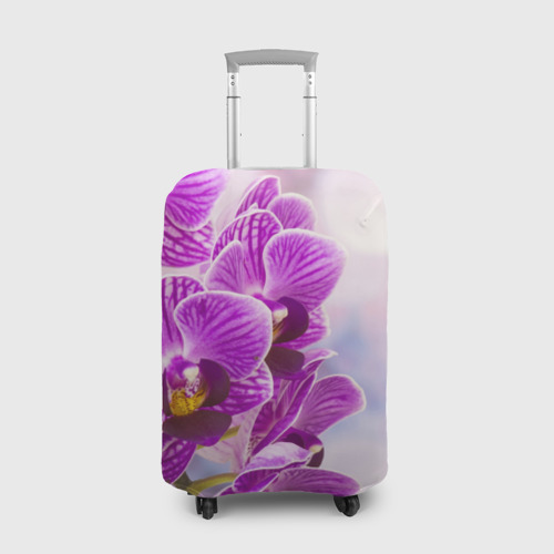 Чехол для чемодана 3D Божественная орхидея Фото 01