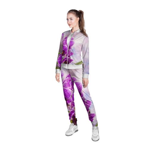 Женская олимпийка 3D  Фото 05, Божественная орхидея