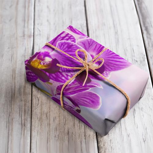 Бумага для упаковки 3D Божественная орхидея Фото 01