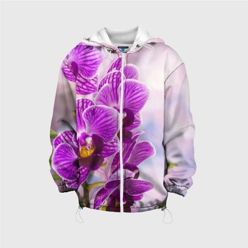 Детская куртка 3D Божественная орхидея Фото 01