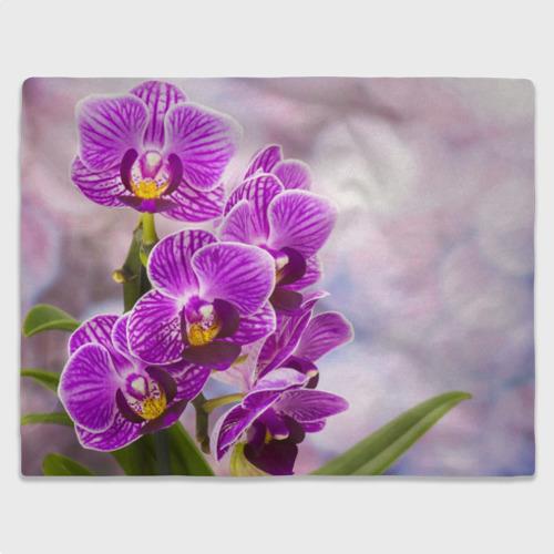 Плед 3D Божественная орхидея Фото 01