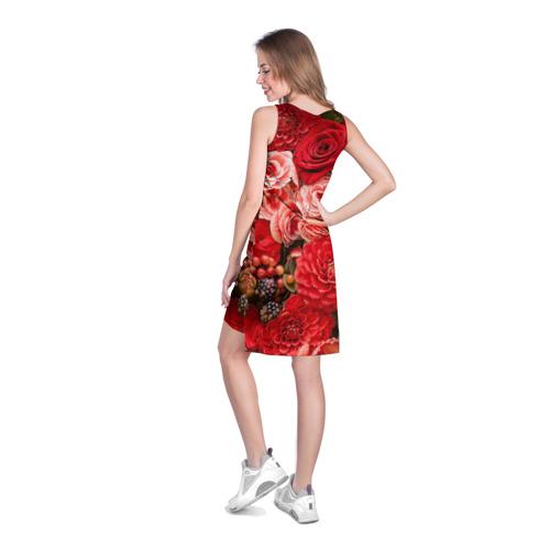 Платье-майка 3D Шикарный букет Фото 01