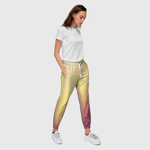 Женские брюки 3D  Фото 03, cs:go - Fade Glock18 Style (Градиент)
