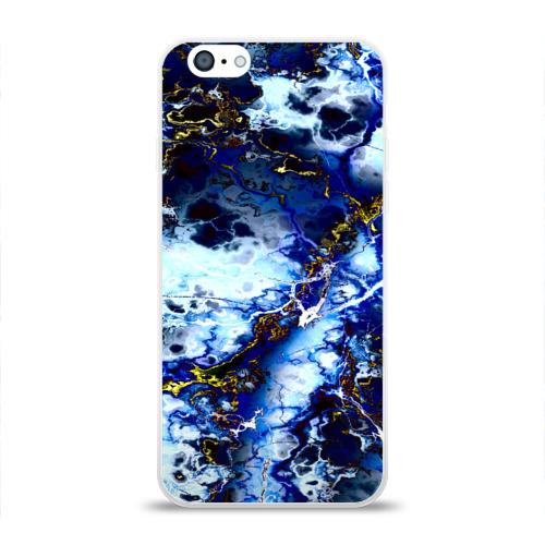 Чехол для Apple iPhone 6 силиконовый глянцевый Молнии