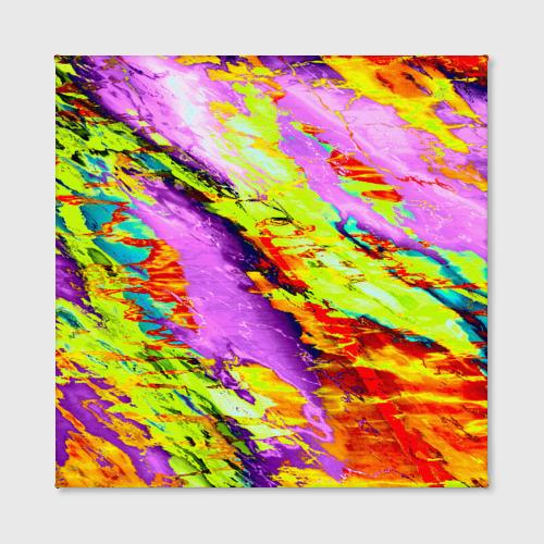 Холст квадратный  Фото 02, Акварельные краски