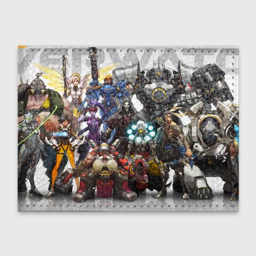 Обложка для студенческого билета Overwatch Фото 01