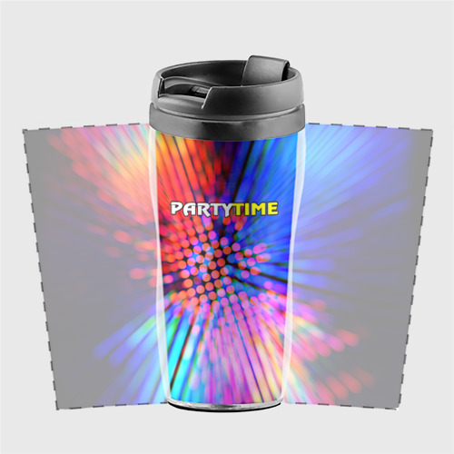 Термокружка-непроливайка  Фото 02, Party time