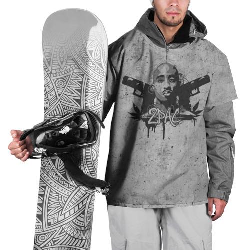 Накидка на куртку 3D  Фото 01, 2Pac