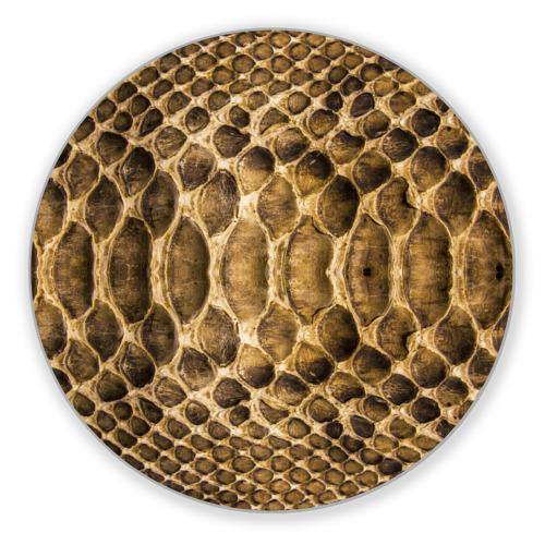 Коврик круглый Змеиная кожа от Всемайки