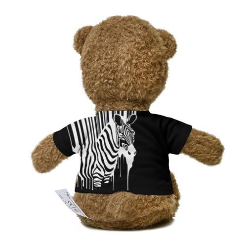 Миша в футболке 3D Зебра Фото 01