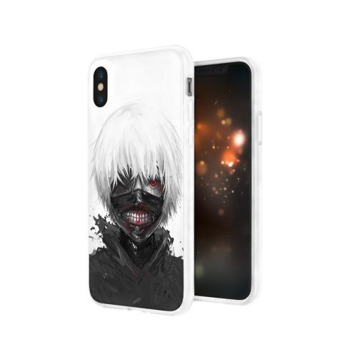 Чехол для Apple iPhone X силиконовый глянцевый  Фото 03, Tokyo Ghoul