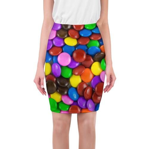 Юбка 3D Цветные конфетки