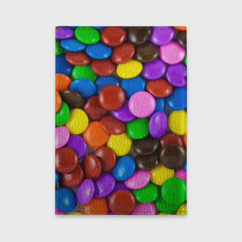 Обложка для автодокументов  Фото 02, Цветные конфетки