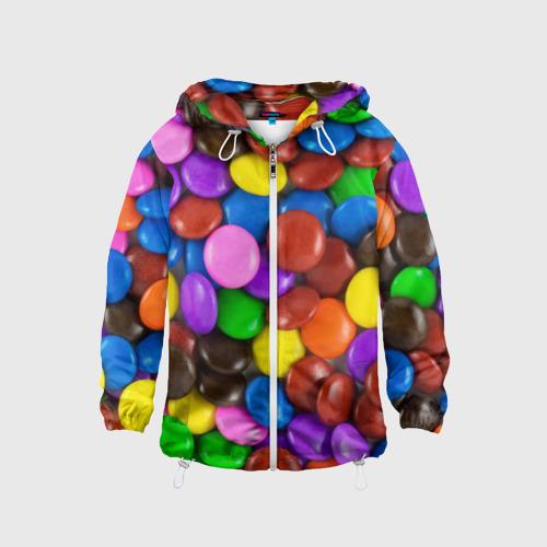 Детская ветровка 3D  Фото 01, Цветные конфетки