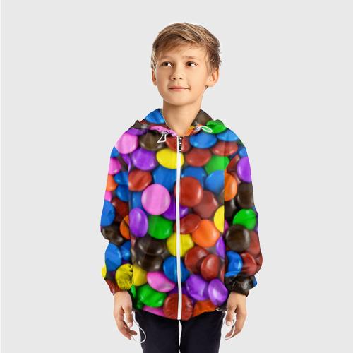 Детская ветровка 3D  Фото 03, Цветные конфетки
