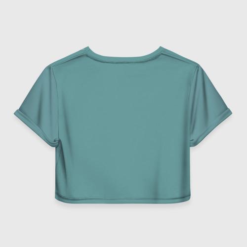 Женская футболка 3D укороченная  Фото 02, KCaLH