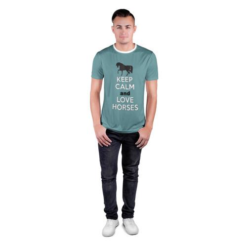 Мужская футболка 3D спортивная  Фото 04, KCaLH