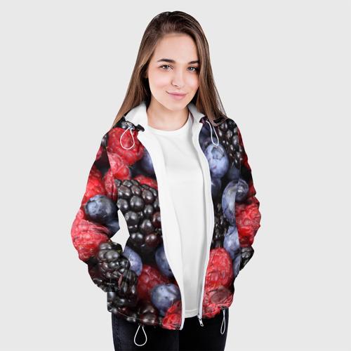 Женская куртка 3D  Фото 04, Ягодки