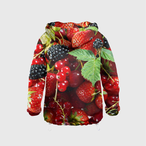 Детская ветровка 3D  Фото 02, Любимые ягоды