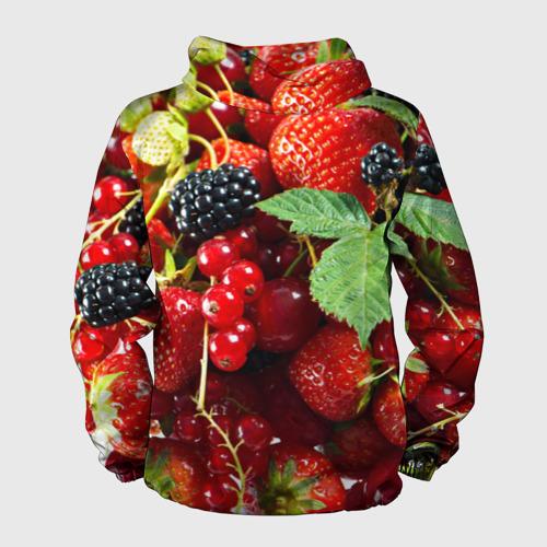 Мужская ветровка 3D Любимые ягоды Фото 01