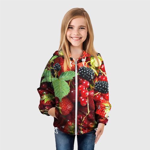 Детская ветровка 3D  Фото 04, Любимые ягоды