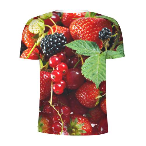 Мужская футболка 3D спортивная  Фото 02, Любимые ягоды