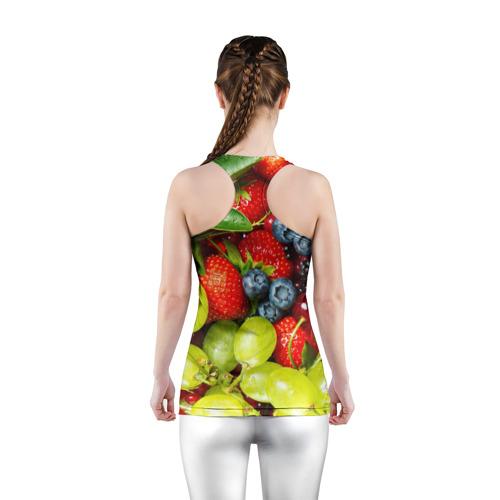 Женская майка 3D спортивная  Фото 04, Вкусные ягоды