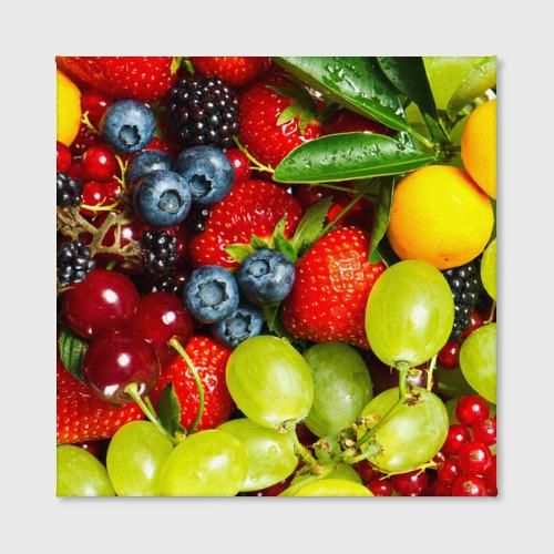 Холст квадратный  Фото 02, Вкусные ягоды