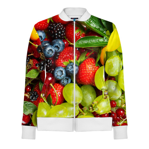 Женская олимпийка 3D  Фото 01, Вкусные ягоды