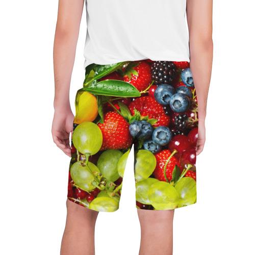 Мужские шорты 3D Вкусные ягоды Фото 01