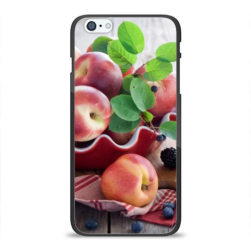 Чехол для iPhone 6Plus/6S Plus глянцевый Персики Фото 01