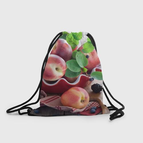 Рюкзак-мешок 3D Персики Фото 01