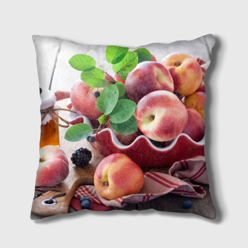 Подушка 3D Персики Фото 01