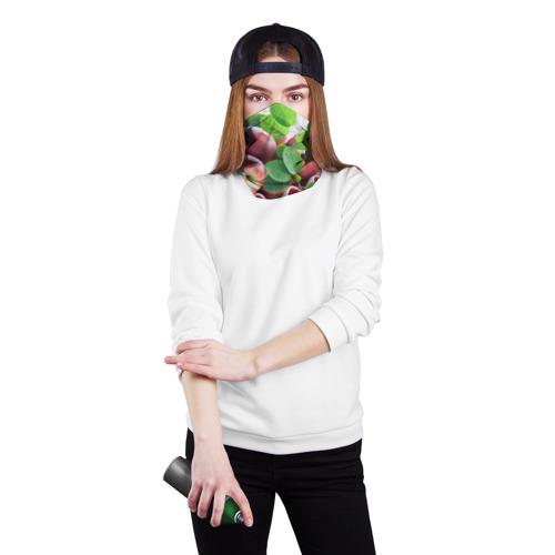 Бандана-труба 3D Персики Фото 01