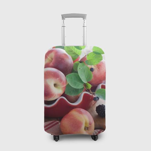 Чехол для чемодана 3D Персики Фото 01