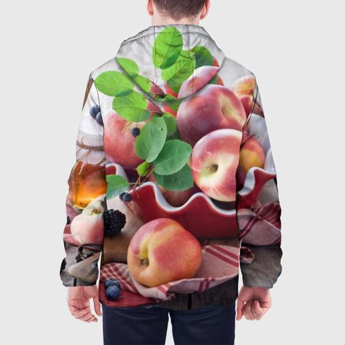 Мужская куртка 3D Персики Фото 01