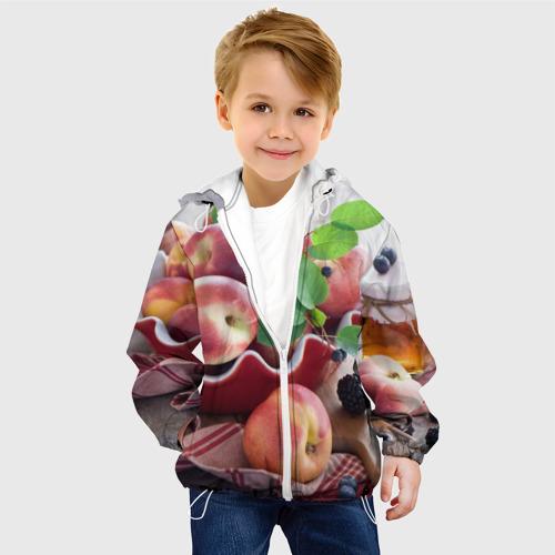 Детская куртка 3D Персики Фото 01