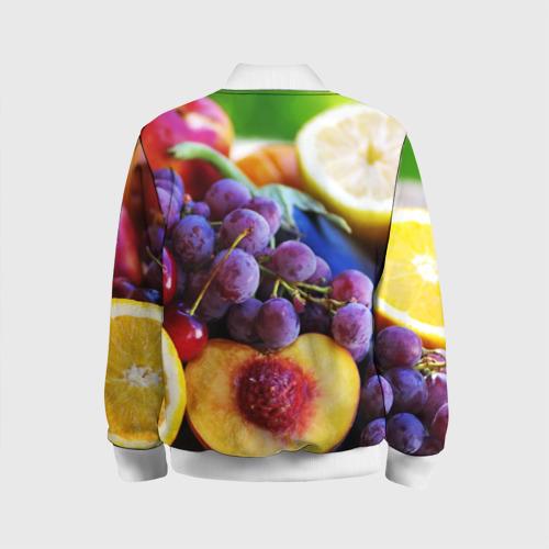 Детский бомбер 3D  Фото 02, Спелые фрукты