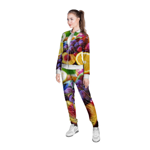 Женская олимпийка 3D  Фото 05, Спелые фрукты