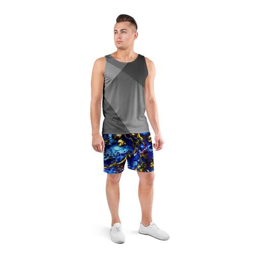 Мужские шорты 3D спортивные  Фото 04, Ток