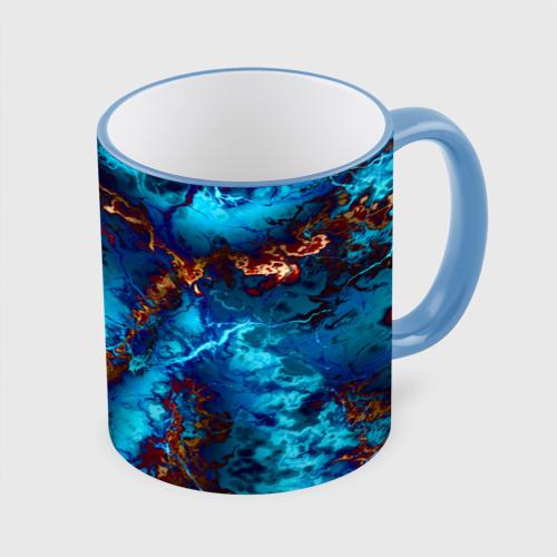 Кружка с полной запечаткой  Фото 01, Голубые волны