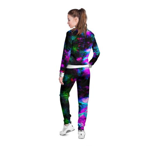 Женская олимпийка 3D  Фото 04, Цветные волны