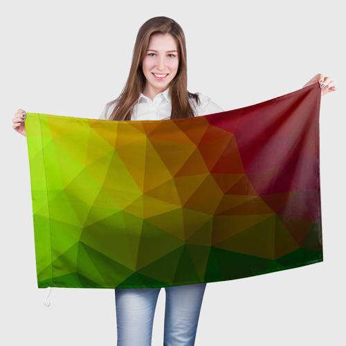 Флаг 3D  Фото 01, Абстракции