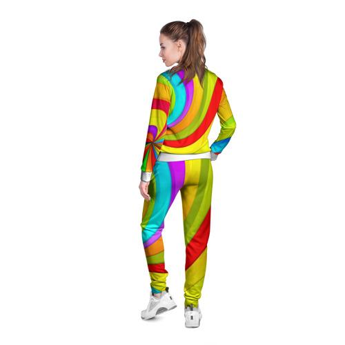 Женская олимпийка 3D  Фото 04, Радуга