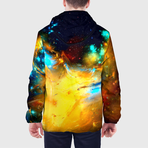 Мужская куртка 3D  Фото 05, Галактика